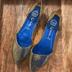 Jeffrey Campbell In Love Jelly D'Orsay Flat
